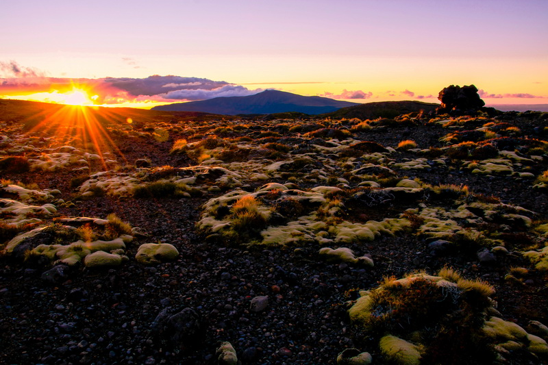 Sunset Scoria Flat