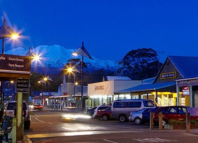 Ohakune-by-night