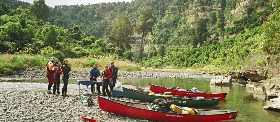 Canoe Safaris Rangitikei River